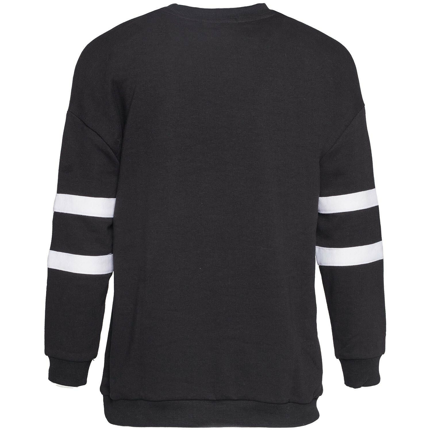 WORK IT OUT SWEATER BLACK