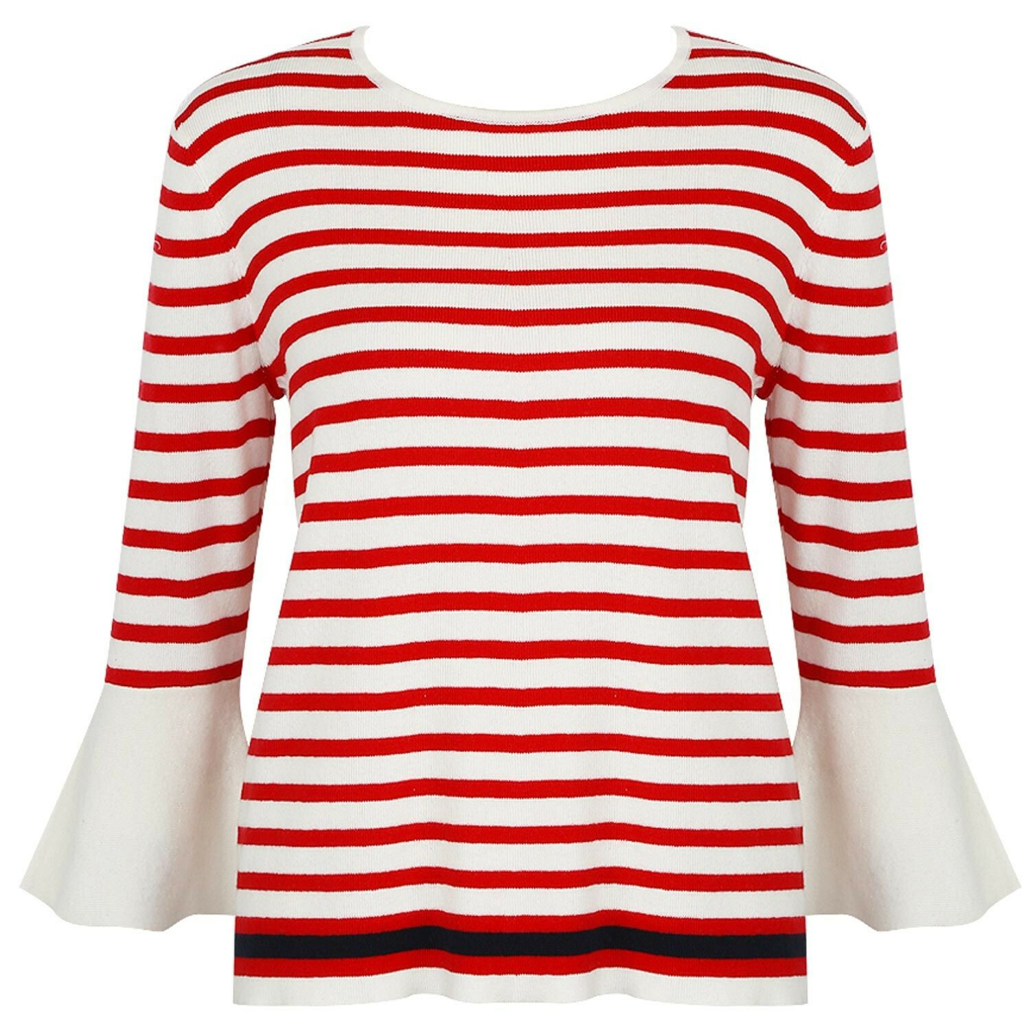 RED BRETON STRIPE SWEATER