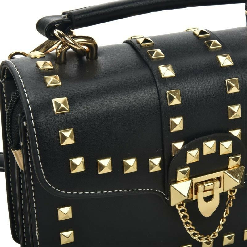 GLAM GOLD LOCK BAG
