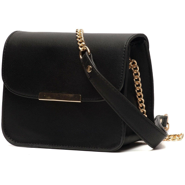 BLACK SET THE BAR BAG