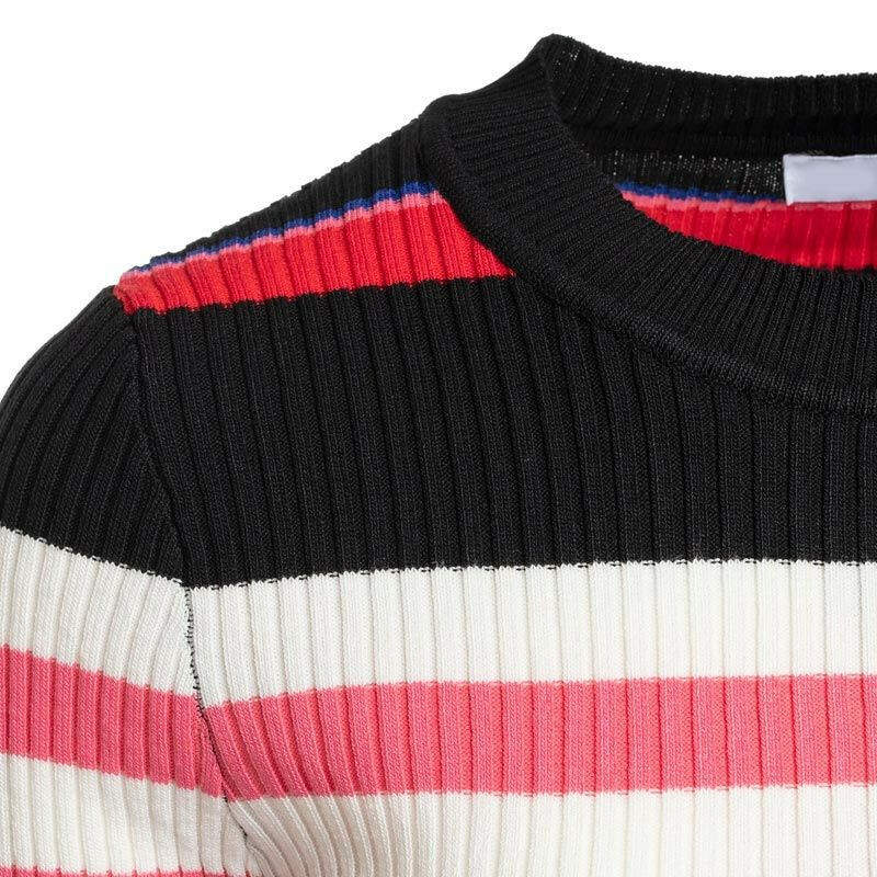 STRIPED MARLY TEE RED