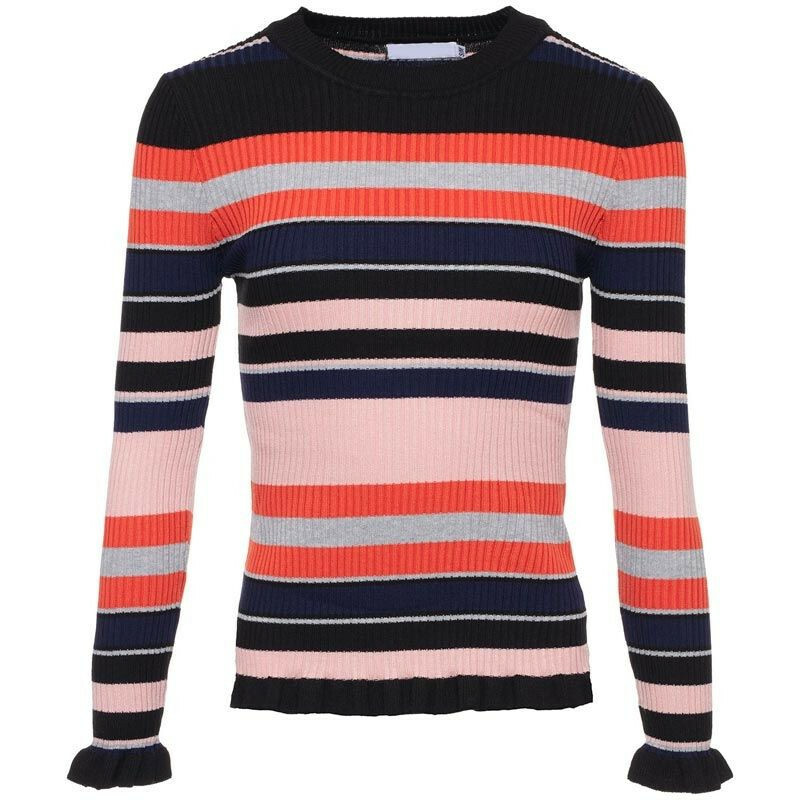 STRIPED MARLY TEE PINK