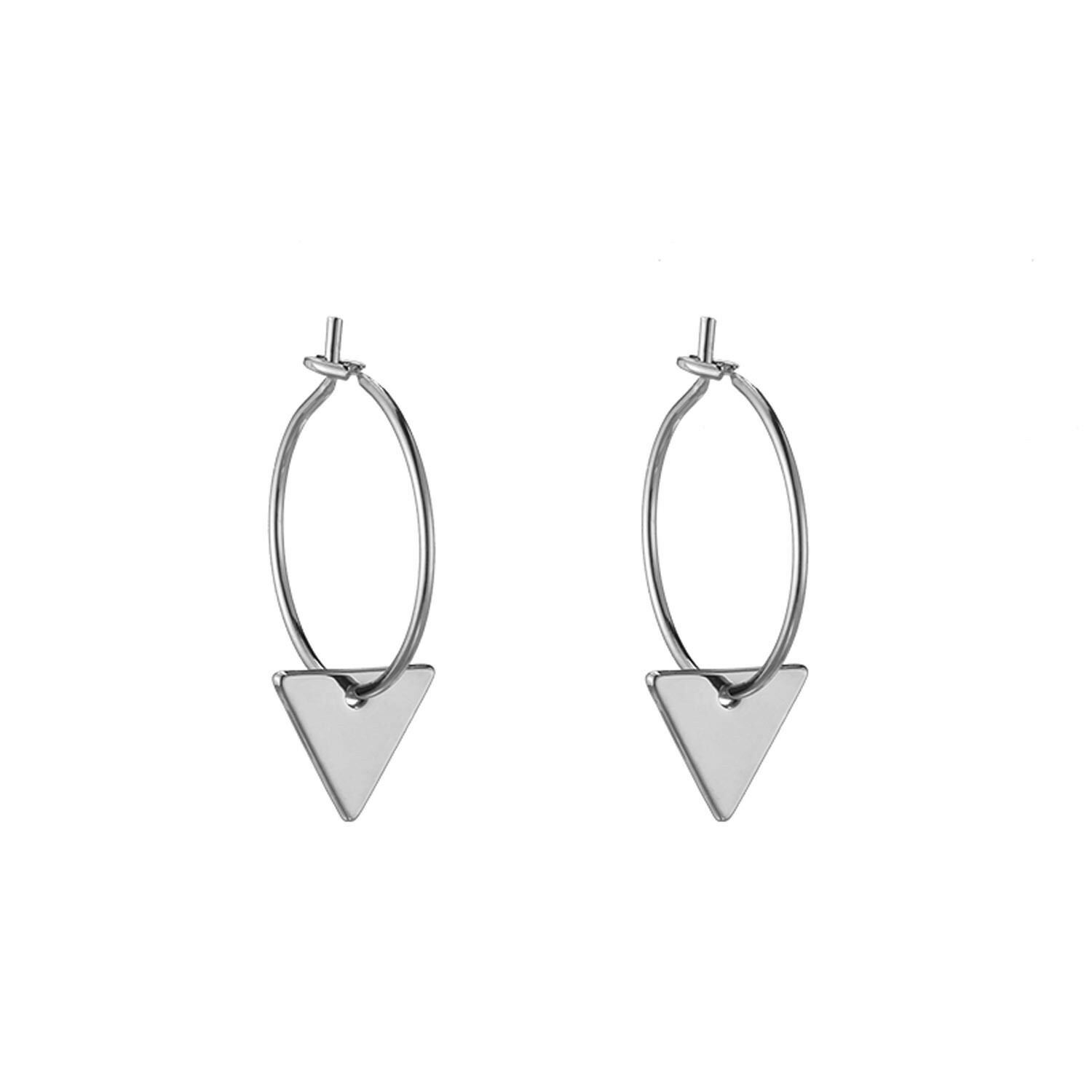 LITTLE TRIANGLE EARRINGS