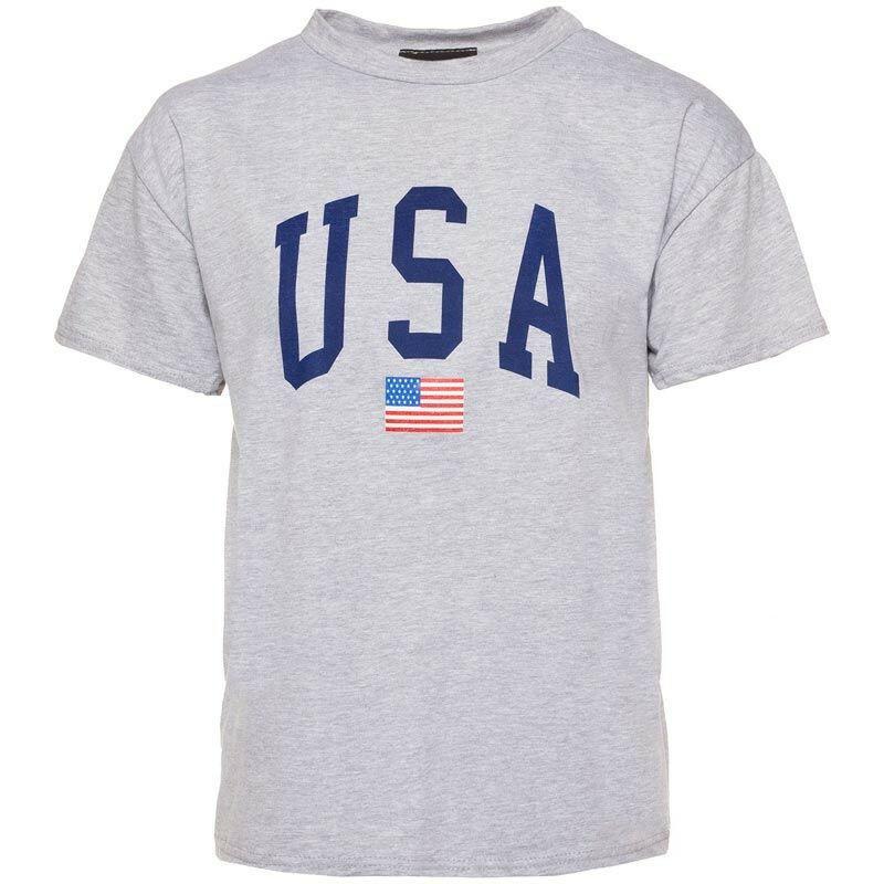 GREY USA TEE