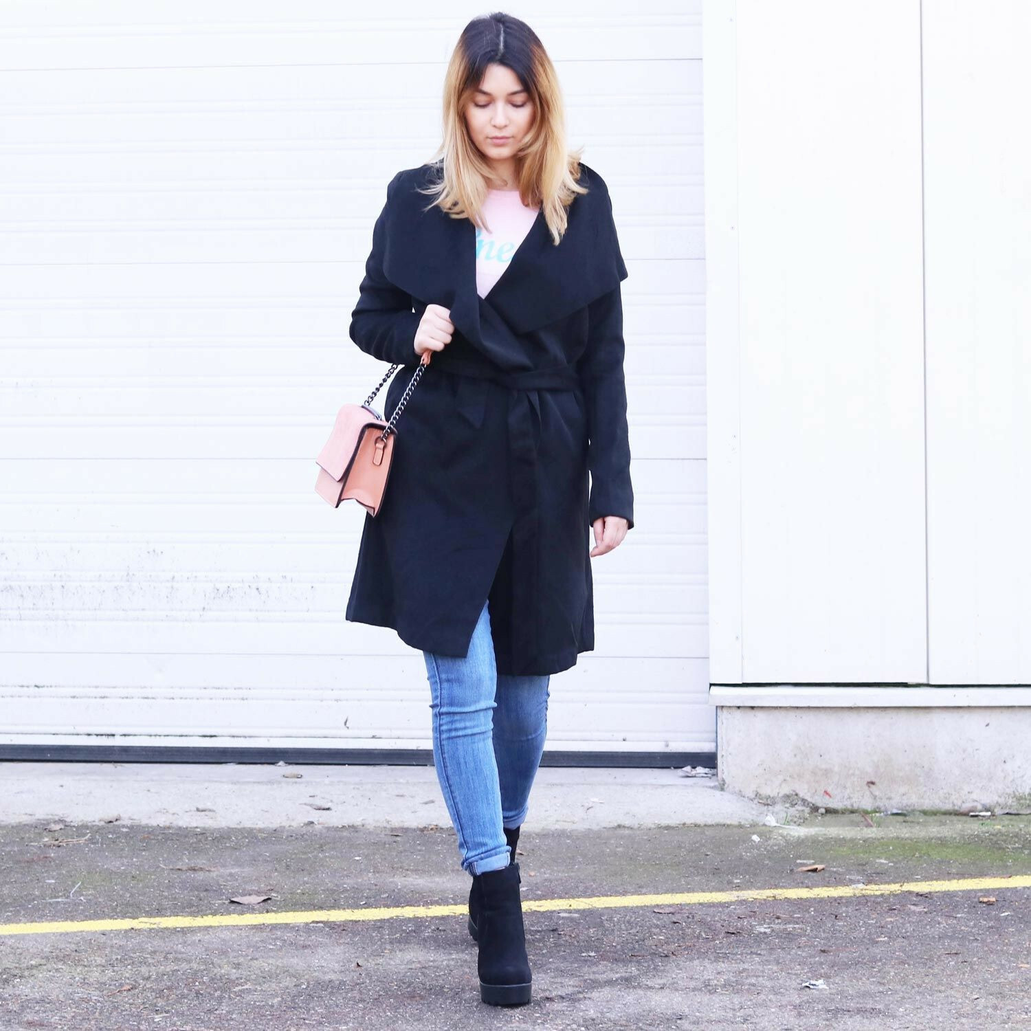 CHIQUE SOFT TRENCHCOAT