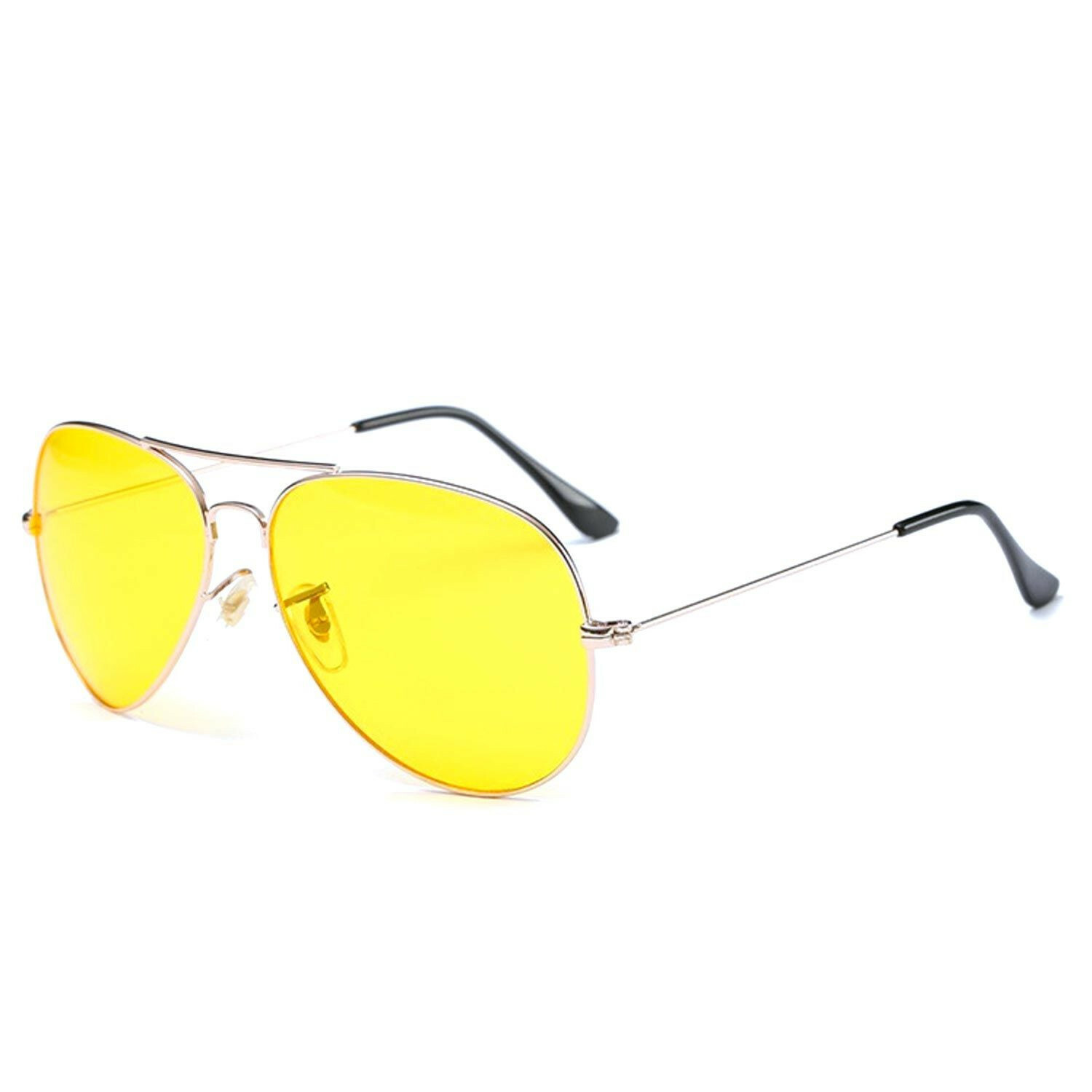 YELLOW RETRO SUNNIES GOLD