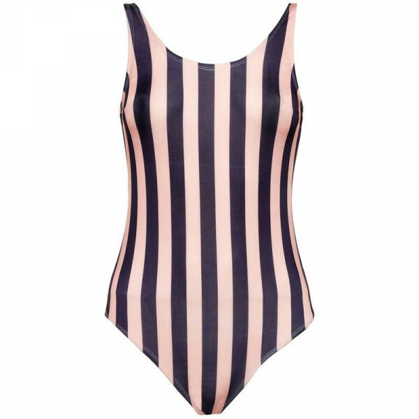 PINK AND BLUE SWIMSUIT