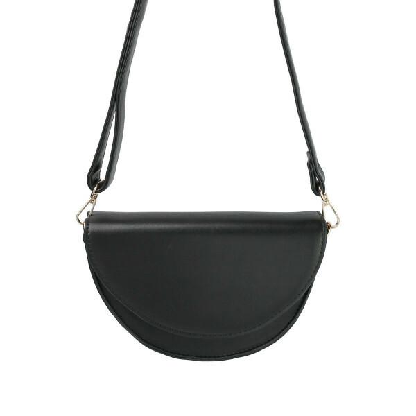 CIRCULAR BAG BLACK