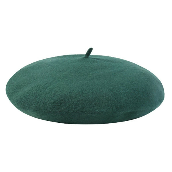 GREEN BEAUTIFUL BERET