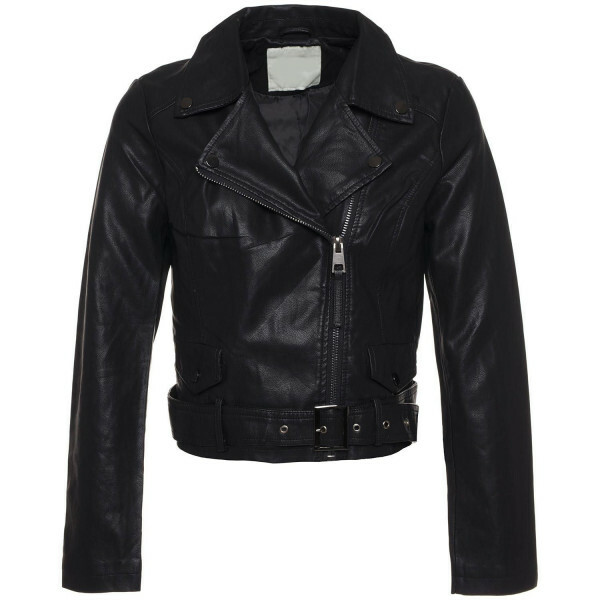 STYLISH BLACK BIKER JACKET
