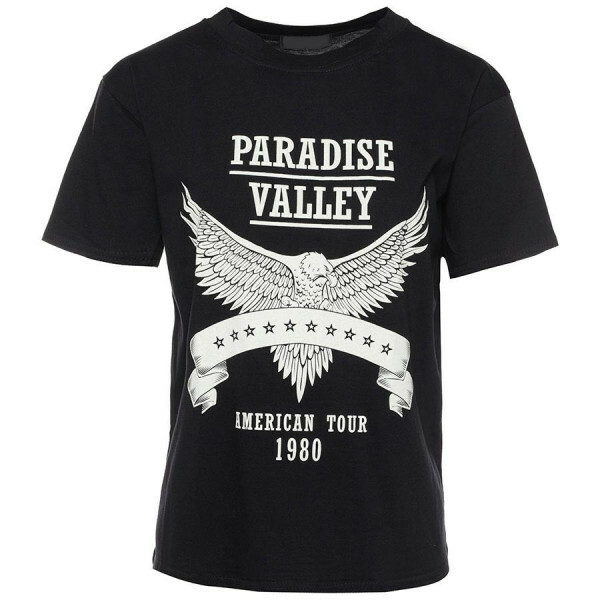 ZWART T-SHIRT PARADISE VALLEY