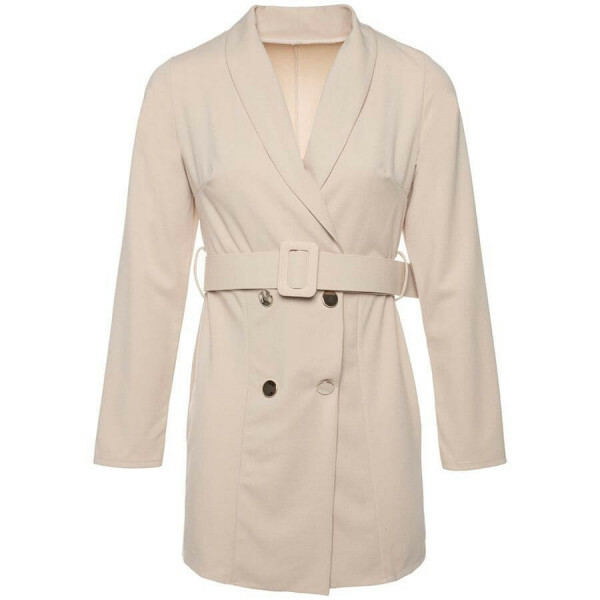 BLAZER DRESS BEIGE