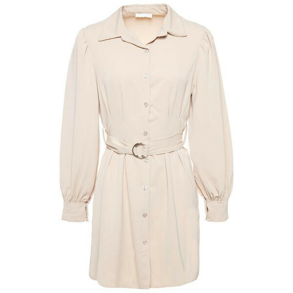 SHIRTDRESS BEIGE
