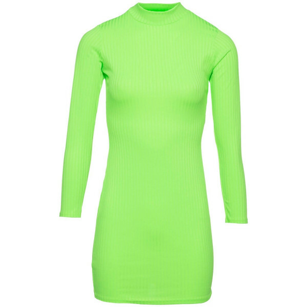 BASIC BODYCON DRESS NEON