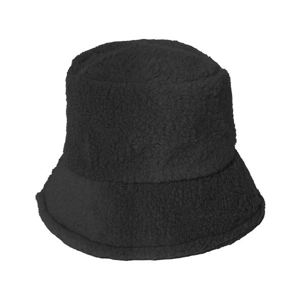 TEDDY BUCKET HAT ZWART