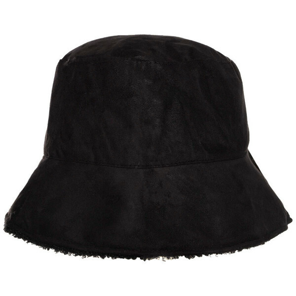 BUCKET HAT ZWART