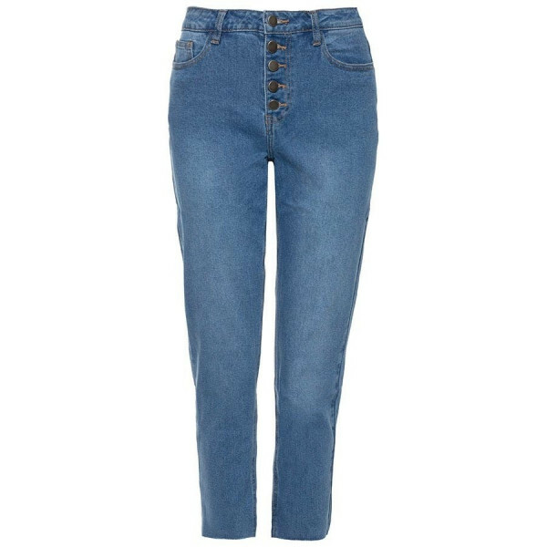 BASIC MOM JEANS BLUE