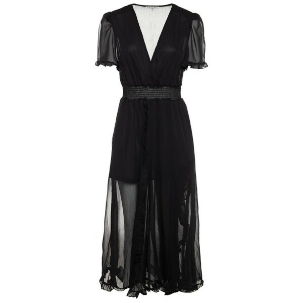 FLOWY MAXI DRESS BLACK