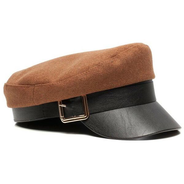 BAKER BOY CAP BROWN