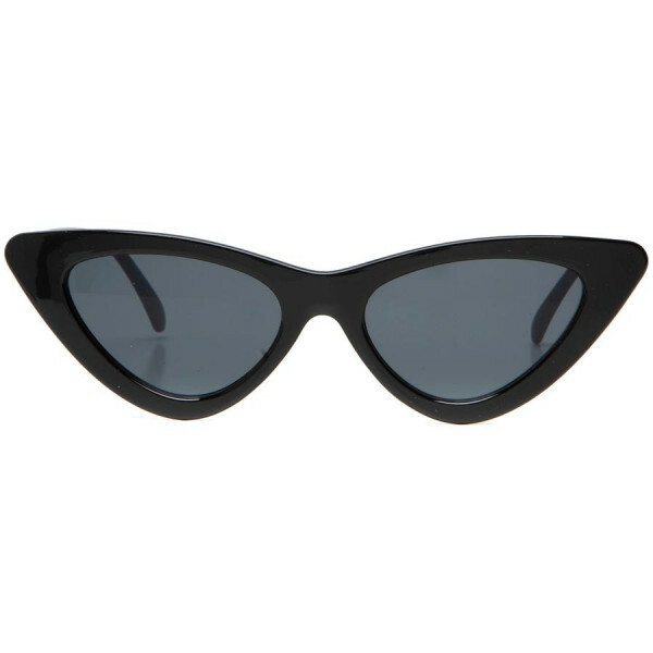 FANCY CATEYE SUNNIES BLACK