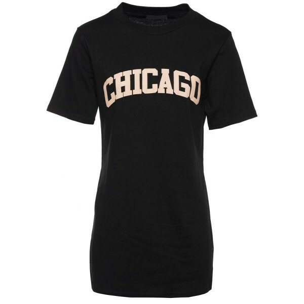 CHICAGO TEE BLACK