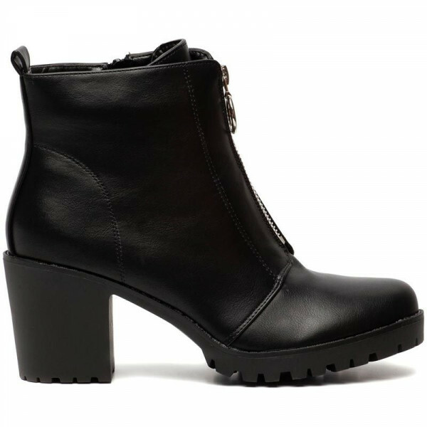 ZARA ZIPPER BOOTIES