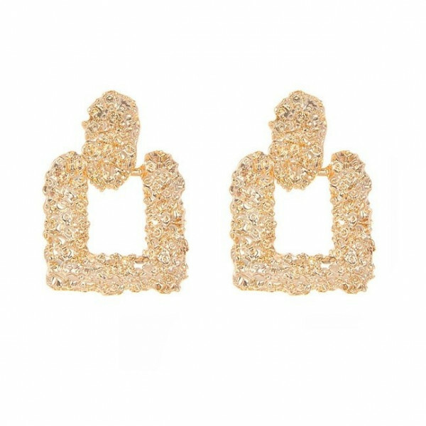 CHUNKY EARRINGS GOLD II