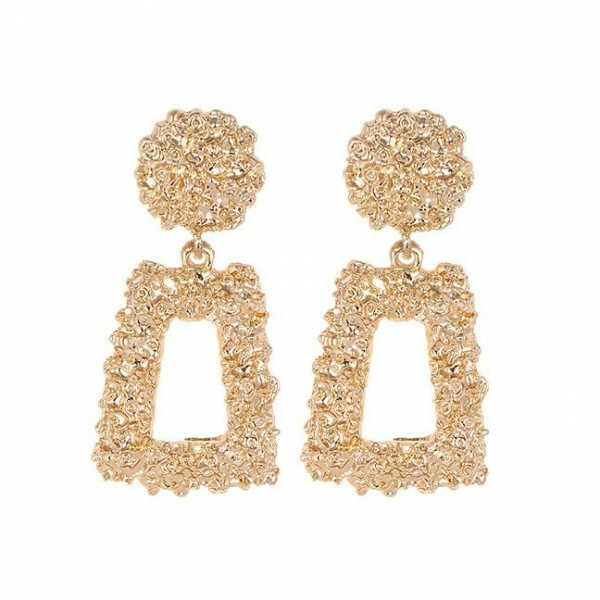 CHUNKY EARRINGS GOLD