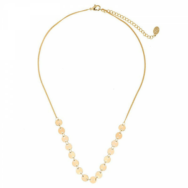 DOT ME UP NECKLACE GOLD