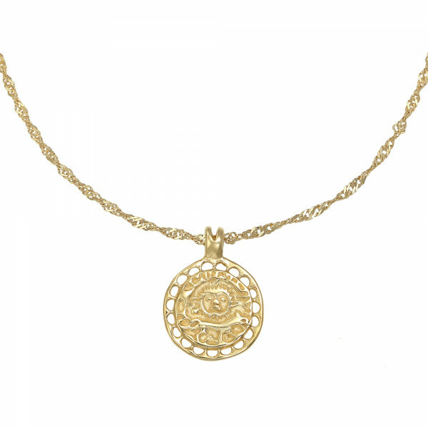 AMULET NECKLACE GOLD
