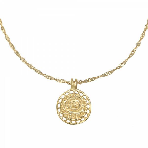 AMULET NECKLACE GOLD