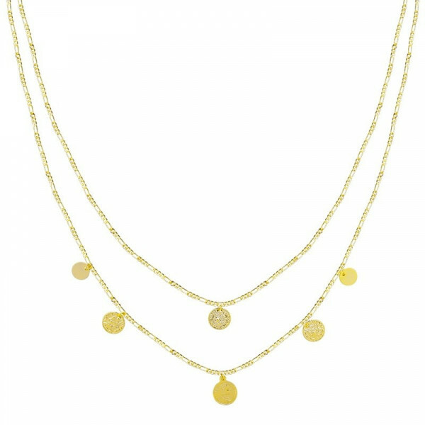 LAYER COINS NECKLACE GOLD