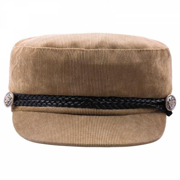 CORDUROY CAP BEIGE