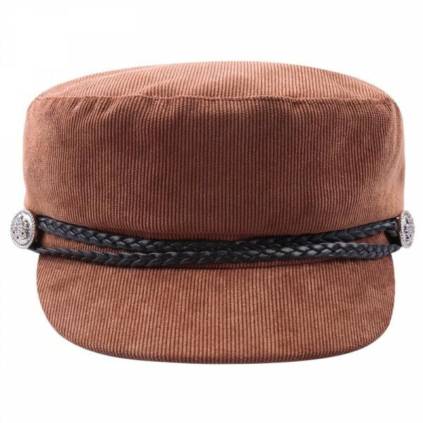 CORDUROY CAP CAMEL