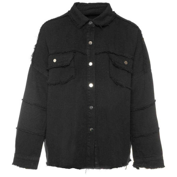 BASIC DENIMJACKET BLACK