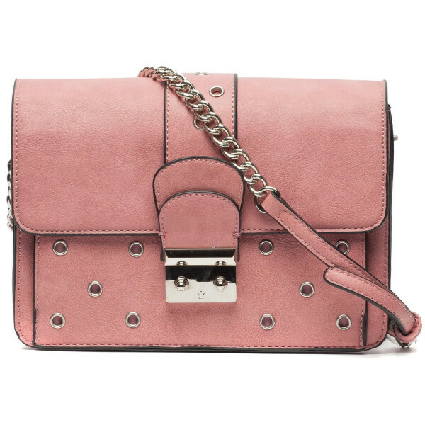 PINK DETAILED CROSS BODY BAG