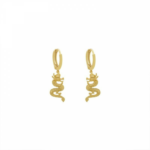 DRAGON EARRING GOLD