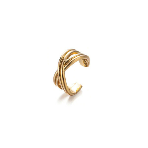 EARCUFF TWIST GOLD