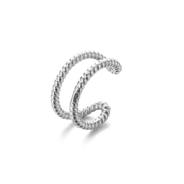 EARCUFF FANCY SILVER