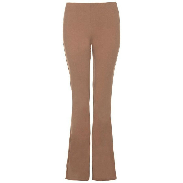 PERFECT FLARED PANTS BEIGE