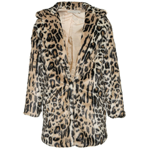 FIERCE LEOPARD FAUX FUR