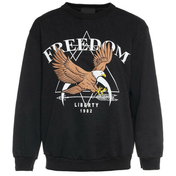 FREEDOM SWEATER BLACK