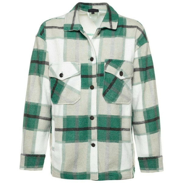 CHECKERED JACKET GREEN