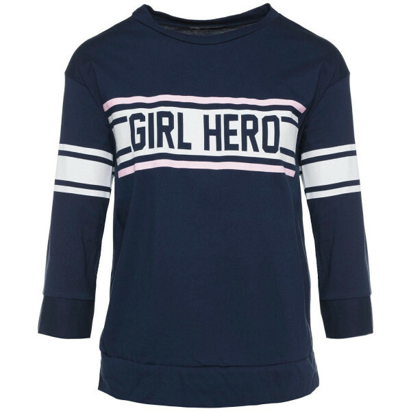 BLUE GIRL HERO TOP