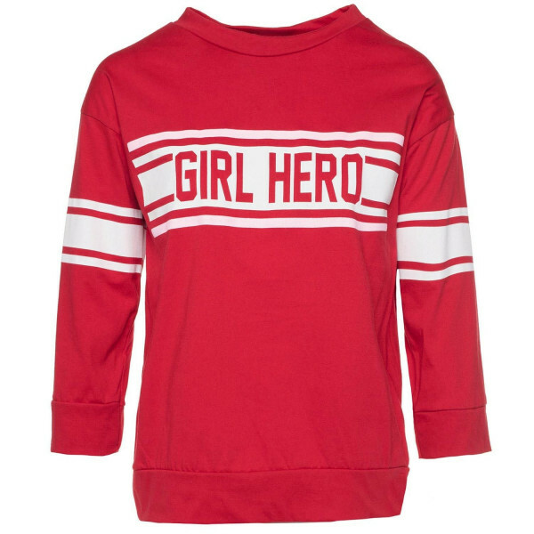 RED GIRL HERO TOP