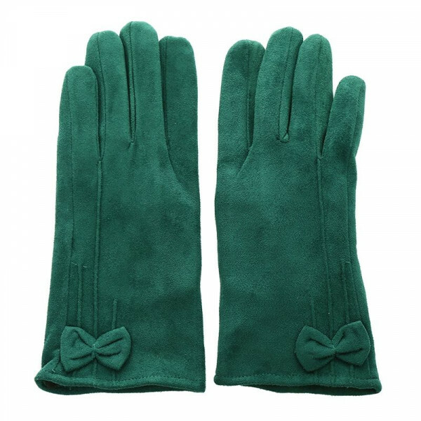 GORGEOUS GREEN GLOVES
