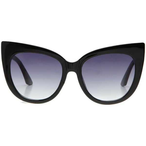 GLAM CATEYE SUNNIES BLACK