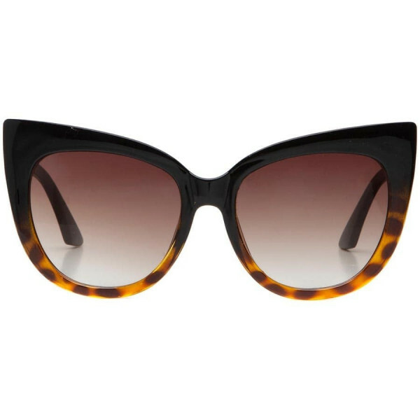 GLAM CATEYE SUNNIES TORTOISE
