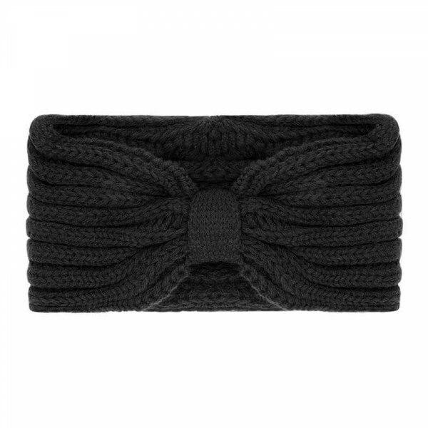 COZY HEADBAND BLACK