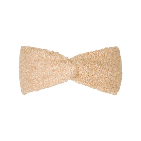 TEDDY HEADBAND BEIGE